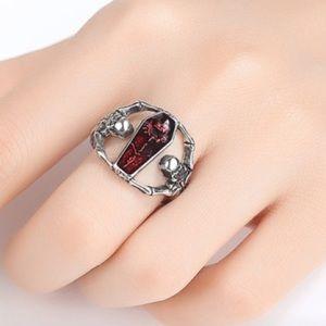 💀 Vampire skeleton ring 🧛♀️